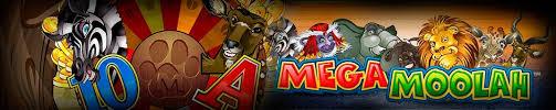 Mega Moolah logo banner