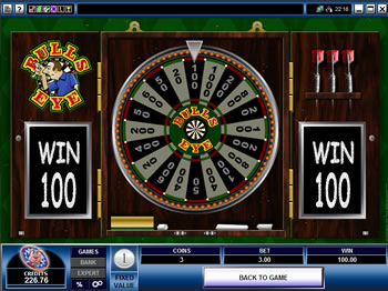 Play Bulls Eye Video Slot for FREE