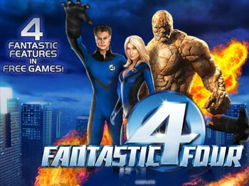 Play FANTASTIC FOUR Video Slot for FREE