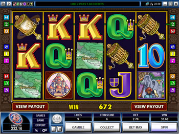 Play Kathmandu Video Slot for FREE