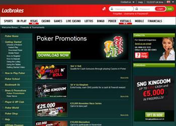 Ladbrokes Online Poker