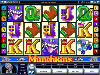 Munchkins Video Slots game