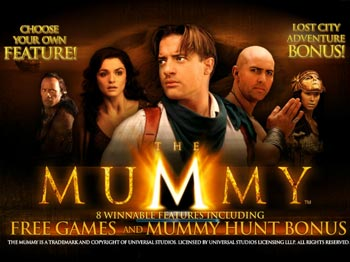 Play THE MUMMY Video Slot for FREE