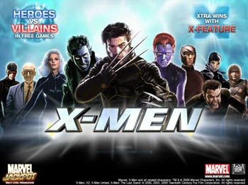 Play X-MEN Video Slot for FREE